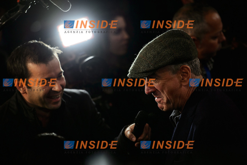 Robert De Niro during an interview <br /> Roma 07-01-2014 Cinema The Space Moderno <br /> Grudge Match - Il Grande Match Premiere<br /> Foto Andrea Staccioli / Insidefoto