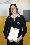 Girls Athletics winner TeRina KeenanASB College Sport Young Sportperson of the Year Awards 2007 held at Eden Park on November 15th, 2007.