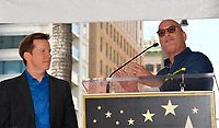 Jeff Dunham &amp; Howie Mandel at the Hollywood Walk of Fame Star Ceremony honoring ventriloquist Jeff Dunham, Los Angeles, USA 21 Sept. 2017<br /> Picture: Paul Smith/Featureflash/SilverHub 0208 004 5359 sales@silverhubmedia.com
