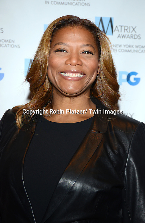Queen Latifah attend the 2014 Matrix Awards on April 28, 2014 at the Waldorf Astoria Hotel in New York City, NY, USA