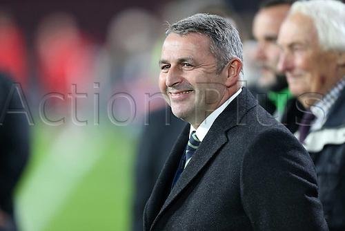 03.11.2015. Eindhoven, Holland, UEFA CHampions League football. PSV Eindhoven versus Wolfsburg.  Klaus Allofs (Manager, VfL Wolfsburg)