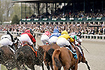 LEXINGTON - APRIL 12: Horseracing at Keeneland in Lexington, Kentucky on April 12, 2006.