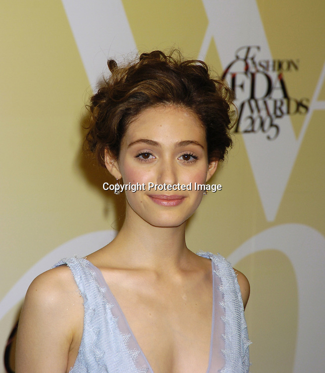 Emmy Rossum ..at the 2005 CFDA Fashion Awards on June 6, 2005 at ..the New York Public Library. ..Photo by Robin Platzer, Twin Images