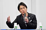 Takeshi Natsuno, <br /> MAY 22, 2017 : The Tokyo Organising Committee of the Olympic and Paralympic Games announce the application requirements of the convention mascot in Tokyo, Japan. (Photo by AFLO)