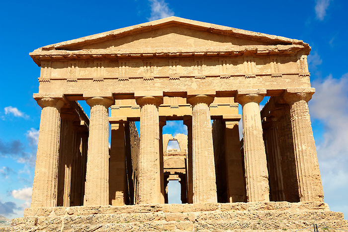 Greek Temple of Concordia, Agrigento, sicily