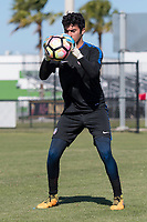 Lakewood Ranch, FL - Sunday Jan. 07, 2018: Justin Garces during an U-19 USMNT training session at Premier Sports Campus in Lakewood Ranch, FL.