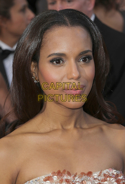 Kerry Washington.85th Annual Academy Awards held at the Dolby Theatre at Hollywood & Highland Center, Hollywood, California, USA..February 24th, 2013.oscars headshot portrait strapless bare shoulders .CAP/ADM/SLP/COL.©Colin/StarlitePics/AdMedia/Capital Pictures