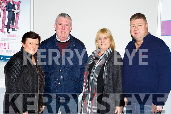 Joan, Frank O'Sullivan, John and Mary Foley Ballydesmond at Pat Short new comedy show 'Hows Tings' in the INEC on Friday night