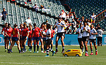 20 July 2018, Rugby World Cup Sevens Womens 2018, San Francisco, USA at AT&T Park.