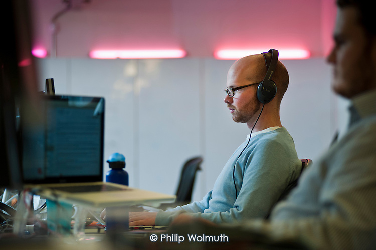 Ustwo, a mobile app developer based in Shoreditch, London, a run-down commercial district  also known as Silicon Roundabout, which is undergoing gentrification as it becomes a centre for web-based companies and IT start-ups.