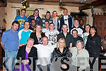 BIG: Denis Lynch of Rahoonane who seated 2nd from left celebrated his 40th Birthday in the Abbey Inn Tralee on Friday night with Family and friends...........   Copyright Kerry's Eye 2008