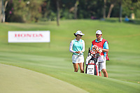 PATTAYA, THAILAND - FEBRUARY 22: Minjee Lee of Australia 3rd shot on the 18th fairway during the second round of the Honda LPGA Thailand 2019 at Siam Country Club Pattaya (Old Course), Pattaya, Thailand on February 22, 2019.<br /> .<br /> .<br /> .<br /> (Photo by: Naratip Golf Srisupab/SEALs Sports Images)<br /> .<br /> Any image use must include a mandatory credit line adjacent to the content which should read: Naratip Golf Srisupab/SEALs Sports Images