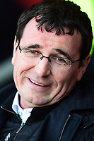 Blackpool manager Gary Bowyer looks on<br /> <br /> Photographer Richard Martin-Roberts/CameraSport<br /> <br /> The EFL Sky Bet League Two Play-Off Semi Final First Leg - Blackpool v Luton Town - Sunday May 14th 2017 - Bloomfield Road - Blackpool<br /> <br /> World Copyright &copy; 2017 CameraSport. All rights reserved. 43 Linden Ave. Countesthorpe. Leicester. England. LE8 5PG - Tel: +44 (0) 116 277 4147 - admin@camerasport.com - www.camerasport.com