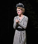 Jenn Colella during the Curtain Call and check presentation to The Lil' Bravest Charity Inc. at 'Chaplin' at the Barrymore Theatre in New York City on 11/09/2012