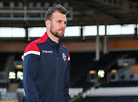 Bolton Wanderers' Christian Doidge pictured before the match<br /> <br /> Photographer Andrew Kearns/CameraSport<br /> <br /> The EFL Sky Bet Championship - Hull City v Bolton Wanderers - Tuesday 1st January 2019 - KC Stadium - Hull<br /> <br /> World Copyright © 2019 CameraSport. All rights reserved. 43 Linden Ave. Countesthorpe. Leicester. England. LE8 5PG - Tel: +44 (0) 116 277 4147 - admin@camerasport.com - www.camerasport.com