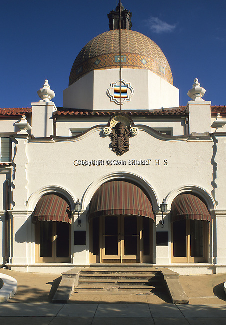 Quapaw Baths at Hot Springs National Park, Arkansas, USA