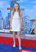 www.acepixs.com<br /> <br /> June 28 2017, LA<br /> <br /> Angourie Rice arriving at the premiere of Columbia Pictures' 'Spider-Man: Homecoming' at the TCL Chinese Theatre on June 28, 2017 in Hollywood, California.<br /> <br /> By Line: Peter West/ACE Pictures<br /> <br /> <br /> ACE Pictures Inc<br /> Tel: 6467670430<br /> Email: info@acepixs.com<br /> www.acepixs.com