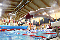 Picture by Richard Blaxall/SWpix.com - 14/04/2018 - Swimming - EFDS National Junior Para Swimming Champs - The Quays, Southampton, England - Swimmers warming-up before the afternoon session starts