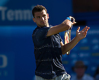 GRIGOR DIMITROV (BUL)<br /> <br /> Aegon Championships 2014 - Queens Club -  London - UK -  ATP - ITF - 2014  - Great Britain -  10th June 2014. <br /> <br /> &copy; AMN IMAGES
