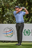 Tyrrell Hatton (ENG) watches his tee shot on 13 during round 2 of the World Golf Championships, Mexico, Club De Golf Chapultepec, Mexico City, Mexico. 2/22/2019.<br /> Picture: Golffile | Ken Murray<br /> <br /> <br /> All photo usage must carry mandatory copyright credit (&copy; Golffile | Ken Murray)