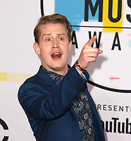 LOS ANGELES, CA - OCTOBER 09: Macaulay Culkin attends the 2018 American Music Awards at Microsoft Theater on October 9, 2018 in Los Angeles, California.  <br /> CAP/MPI/IS<br /> ©IS/MPI/Capital Pictures