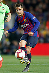 FC Barcelona's Philippe Coutinho during La Liga match. April 27,2019. (ALTERPHOTOS/Acero)