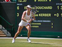 England, London, 28.06.2014. Tennis, Wimbledon, AELTC, Eugenie Bouchard (CAN)<br /> Photo: Tennisimages/Henk Koster