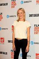 """LOS ANGELES - AUG 15:  Jessy Schram at the """"Shot Caller"""" Premiere at The Theatre at Ace Hotel on August 15, 2017 in Los Angeles, CA"""