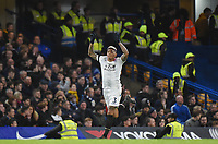 Patrick van Aanholt of Palace celebrates a goal <br /> Londra 10-03-2018 Premier League <br /> Chelsea - Crystal Palace<br /> Foto PHC Images / Panoramic / Insidefoto <br /> ITALY ONLY