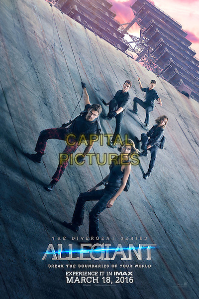 The Divergent Series: Allegiant (2016)<br /> POSTER ART<br /> *Filmstill - Editorial Use Only*<br /> CAP/KFS<br /> Image supplied by Capital Pictures