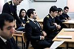Baku - Azerbaijan - 17 December 2014 -- Azerbaijan State Marine Academy. -- Huseynova Kamala (21) one of the few female students. -- PHOTO: Sitara Ibrahimova / EUP-IMAGES
