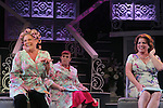 "Guiding Light's Kim Zimmer stars with All My Children's Jane Brockman (R) and Molly Tower in ""It Shoulda Been You"" - a new musical comedy - at the Gretna Theatre on July 30, 2016. Both Jane and Kim starred separate companies of the national tour of Wicked. (Photo by Sue Coflin/Max Photos)"