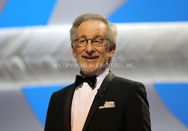 WWW.ACEPIXS.COM....US Sales Only....May 15 2013, Cannes....Steven Spielberg at the opening ceremony of the 66th Cannes Film Festival on May 15 2013 in France....By Line: Famous/ACE Pictures......ACE Pictures, Inc...tel: 646 769 0430..Email: info@acepixs.com..www.acepixs.com