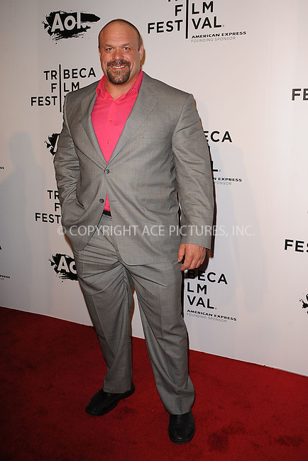 WWW.ACEPIXS.COM . . . . . .April 20, 2011...New York City...Hugo Girard attends the opening night premiere of 'The Union' at the 2011 Tribeca Film Festival at World Financial Center Plaza on April 20, 2011 in New York City.....Please byline: KRISTIN CALLAHAN - ACEPIXS.COM.. . . . . . ..Ace Pictures, Inc: ..tel: (212) 243 8787 or (646) 769 0430..e-mail: info@acepixs.com..web: http://www.acepixs.com .