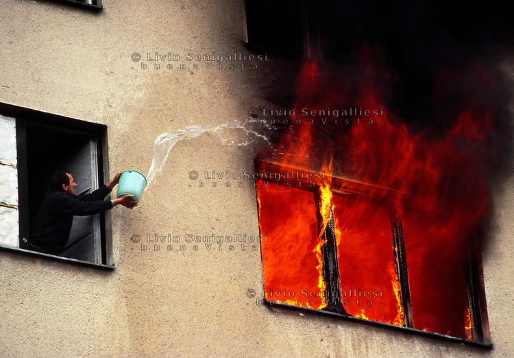 Sarajevo / Bosnia 18 marzo 1996<br />