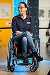 Paralympic Swimmer Teresa Perales during the presentation of the new Javier Fesser short film &quot;Servicio Tecnico&quot;,in Madrid, March 15, 2016<br /> (ALTERPHOTOS/BorjaB.Hojas)
