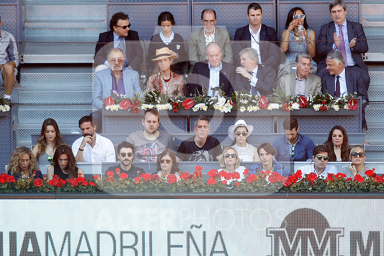 Vip guests during Madrid Open Tennis 2016 match.May, 3, 2016.(ALTERPHOTOS/Acero)
