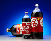 ONE, TWO &amp; THREE LITER SODA BOTTLES<br />