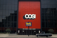 AJ4233, Columbus, COSI, museum, Ohio, COSI (Center of Science and Industry) building in Columbus in the state of Ohio.