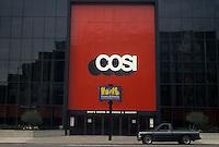 AJ4233, Columbus, COSI, museum, Ohio, COSI (Center of Science and Industry) building in Columbus in the state of Ohio.