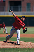 Arizona Diamondbacks pitcher Tyler Mark (26) during an instructional league game against the Los Angeles Angels / Chicago Cubs co-op team on October 9, 2015 at the Tempe Diablo Stadium Complex in Tempe, Arizona.  (Mike Janes/Four Seam Images)