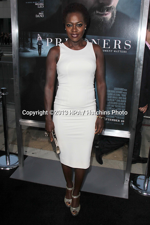 "LOS ANGELES - SEP 12:  Viola Davis at the ""Prisoners"" World Premiere at Academy of Motion Picture Arts and Sciences on September 12, 2013 in Beverly Hills, CA"