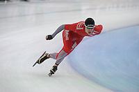 SPEEDSKATING: SOCHI: Adler Arena, 20-03-2013, Training, Simen Spieler Nilsen (NOR), © Martin de Jong
