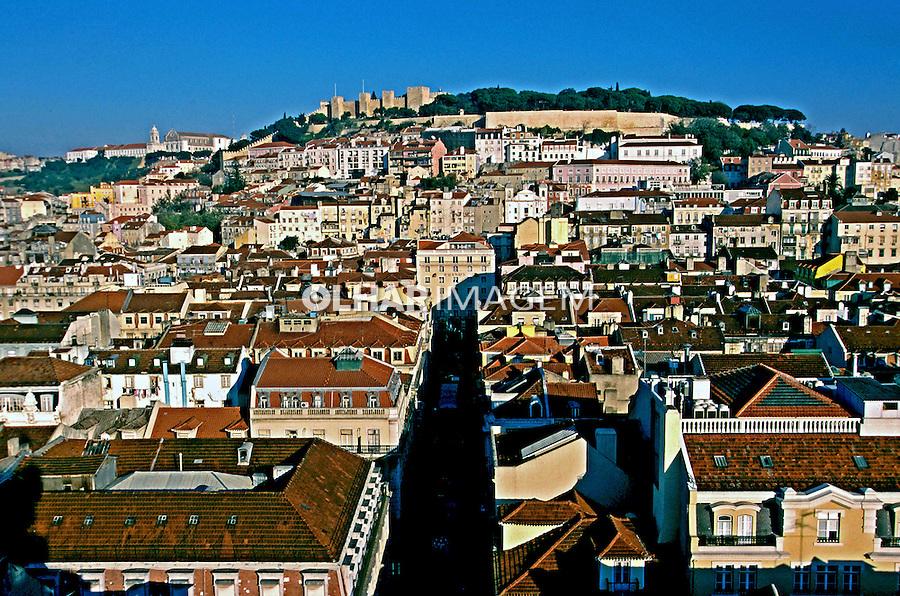 Cidade de Lisboa. Portugal. 1999. Foto de Juca Martins.