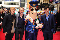 "Rupert Grint, Ronan Keating and Stephen Mangan arrives for the ""Postman Pat"" premiere at the Odeon West End, Leicester Square, London. 11/05/2014 Picture by: Steve Vas / Featureflash"