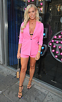 Chloe Meadows at the &quot;The Dreamboys 2018 UK Tour&quot; press night, For Your Eyes Only, City Road, London, England, UK, on Tuesday 10 July 2018.<br /> CAP/CAN<br /> &copy;CAN/Capital Pictures