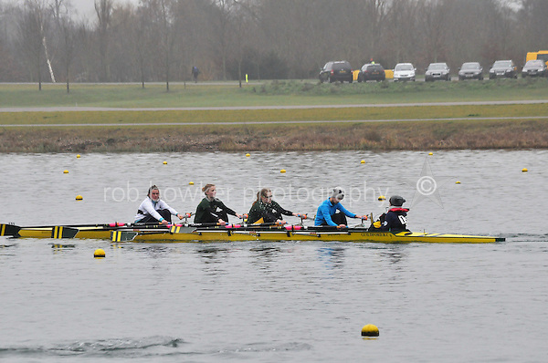 131 Guildford RC W.IM3.4x+..Marlow Regatta Committee Thames Valley Trial Head. 1900m at Dorney Lake/Eton College Rowing Centre, Dorney, Buckinghamshire. Sunday 29 January 2012. Run over three divisions.