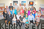 SURPRISE: Helen Clerkin, Kilflynn-Monaghan was surprised as she arrived at  Ballyroe Heights Hotel, Tralee on Sunday as her family & friends surprised her with a Sixty birthday party. (Helen is seated 3rd from right)...