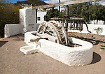 Historic communal well, El Pozo de los Frailes,  Cabo de Gata national park, Spain
