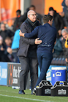 Bristol Rovers Manager Darrell Clarke and Barnet Manager John Still during Barnet vs Bristol Rovers, Emirates FA Cup Football at the Hive Stadium on 11th November 2018